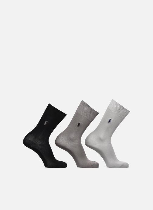 Calze e collant Polo Ralph Lauren Mercerized Socks 3 Pack Nero vedi dettaglio/paio
