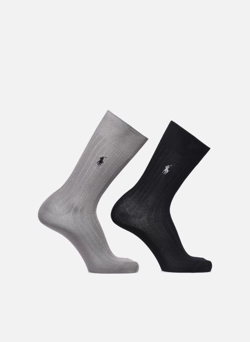Socken & Strumpfhosen Polo Ralph Lauren Eg Rib Ctn Crew 2 Pack schwarz detaillierte ansicht/modell