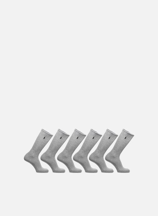 Chaussettes et collants Polo Ralph Lauren 6Pk Cr Pp Crew 6 Pack Gris vue détail/paire