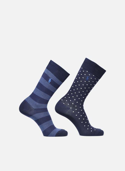 Socken & Strumpfhosen Polo Ralph Lauren Dot Crew 2 Pack blau detaillierte ansicht/modell
