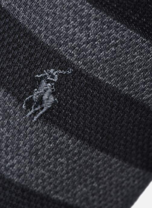 Calze e collant Polo Ralph Lauren Dot Crew 2 Pack Nero modello indossato