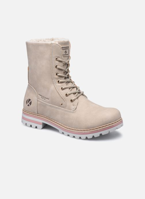 Bottines et boots Kimberfeel Sweeney Beige vue détail/paire