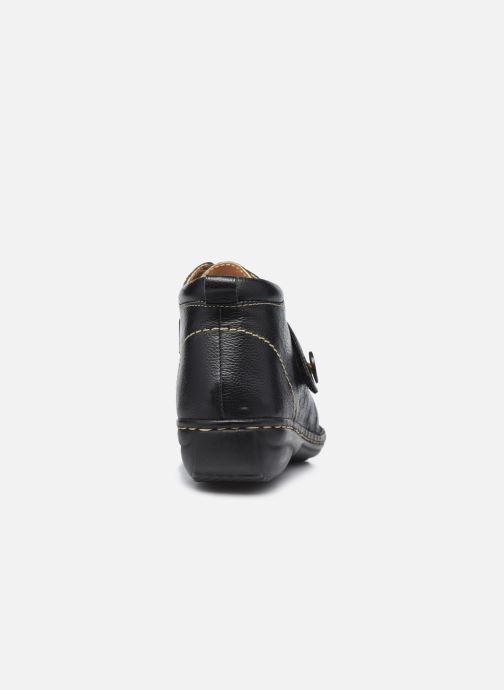 Zapatos con velcro Pédiconfort Mathilde / Tannage Vegetal Negro vista lateral derecha
