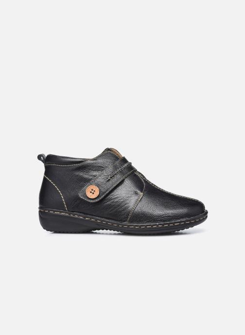 Zapatos con velcro Pédiconfort Mathilde / Tannage Vegetal Negro vistra trasera