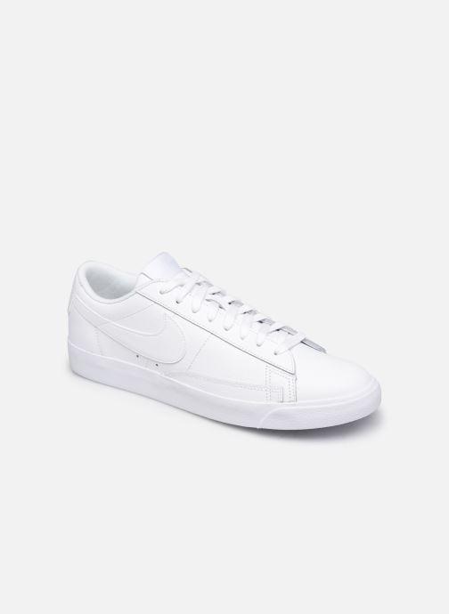 Baskets Nike Blazer Low Le Blanc vue détail/paire