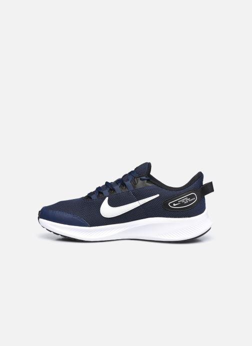 Chaussures de sport Nike Nike Runallday 2 Bleu vue face
