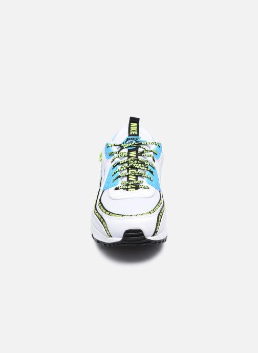 Sneaker Nike Air Max 90 Se weiß schuhe getragen