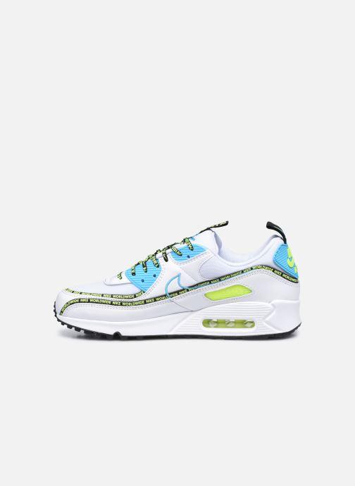 Sneaker Nike Air Max 90 Se weiß ansicht von vorne