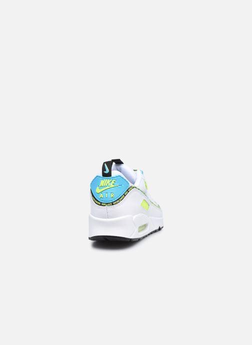 Sneaker Nike Air Max 90 Se weiß ansicht von rechts