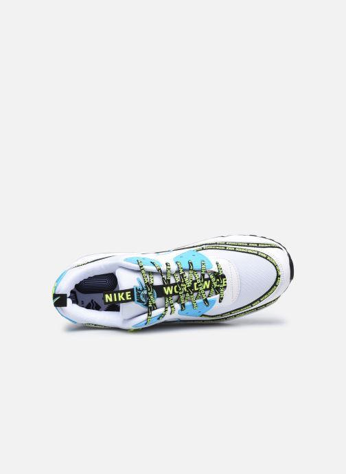 Sneaker Nike Air Max 90 Se weiß ansicht von links