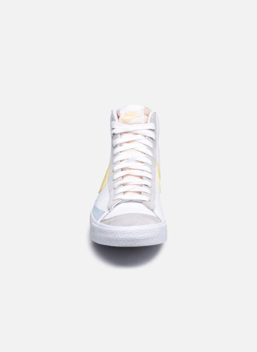 Sneaker Nike Nike Blazer Mid '77 weiß schuhe getragen