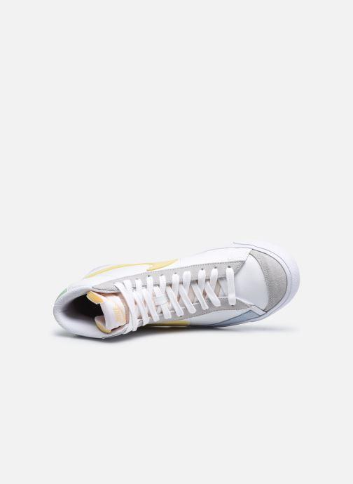 Sneaker Nike Nike Blazer Mid '77 weiß ansicht von links