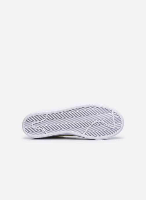 Sneaker Nike Nike Blazer Mid '77 weiß ansicht von oben
