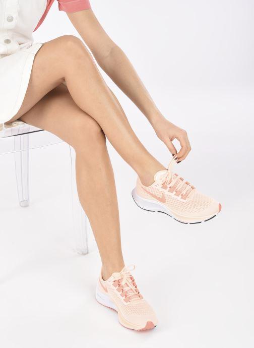 Chaussures de sport Nike Wmns Nike Air Zoom Pegasus 37 Rose vue bas / vue portée sac