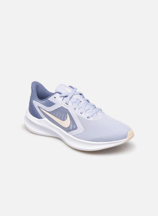 Chaussures de sport Nike Wmns Nike Downshifter 10 Bleu vue détail/paire