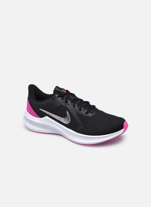 Chaussures de sport Nike Wmns Nike Downshifter 10 Noir vue détail/paire