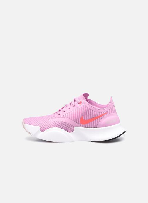Deportivas Nike Wmns Nike Superrep Go Rosa vista de frente