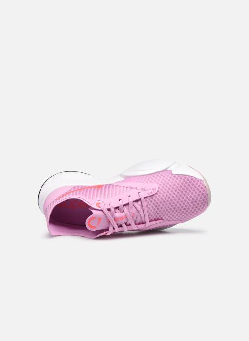 Deportivas Nike Wmns Nike Superrep Go Rosa vista lateral izquierda