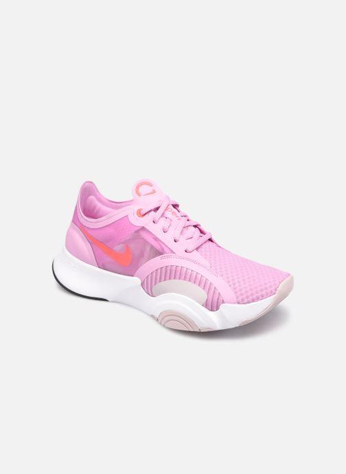 Deportivas Nike Wmns Nike Superrep Go Rosa vista de detalle / par