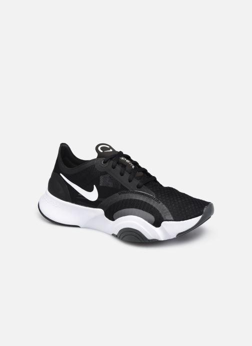 Baskets Nike Wmns Nike Superrep Go Noir vue détail/paire