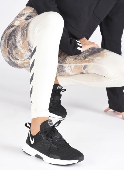 Sportschuhe Nike Wmns Nike City Trainer 3 schwarz ansicht von unten / tasche getragen