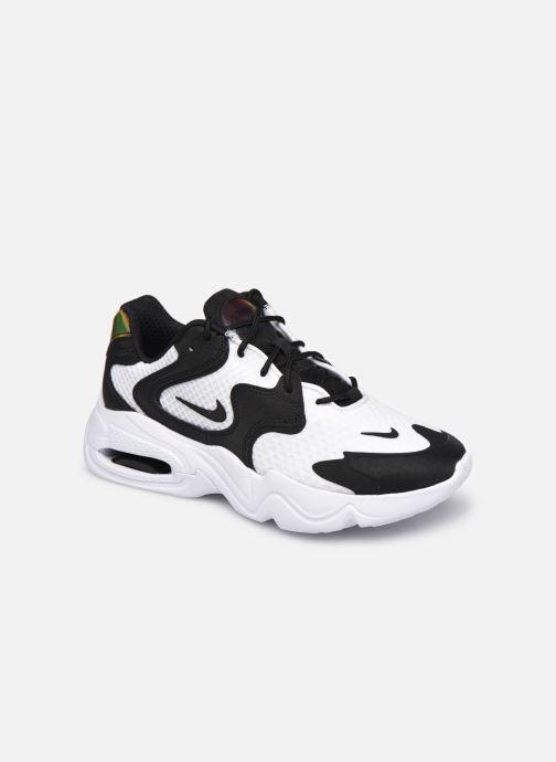 Baskets Nike Wmns Nike Air Max 2X Blanc vue détail/paire
