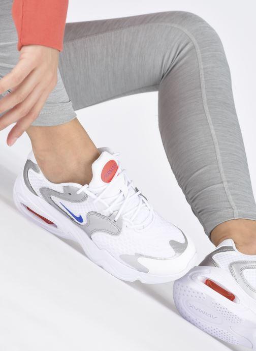 Deportivas Nike Wmns Nike Air Max 2X Blanco vista de abajo