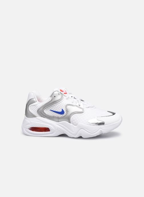 Sneakers Nike Wmns Nike Air Max 2X Wit achterkant