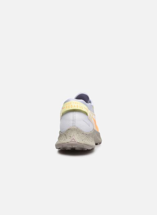 Zapatillas de deporte Nike W Nike Pegasus Trail 2 Naranja vista lateral derecha