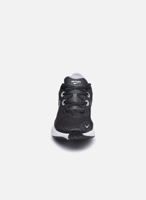 Sportschuhe Nike Wmns Nike Renew Run schwarz schuhe getragen