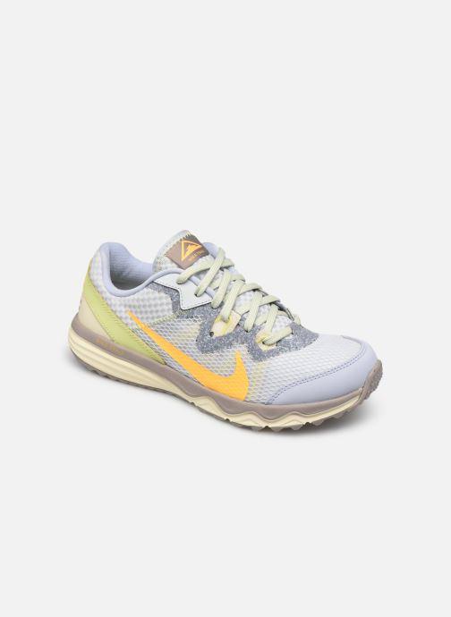Chaussures de sport Nike Wmns Nike Juniper Trail Gris vue détail/paire