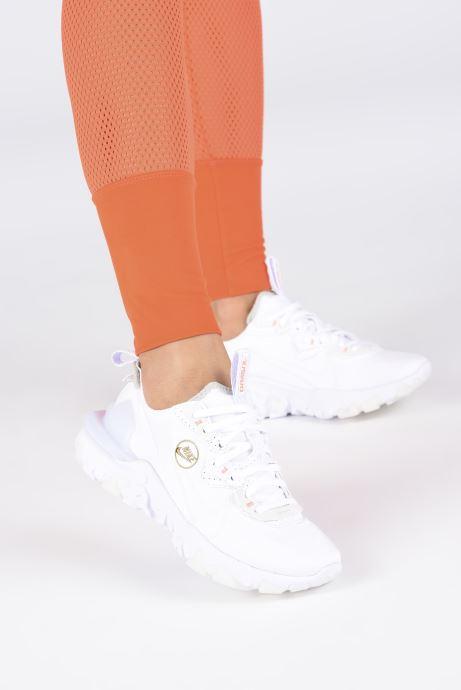 Deportivas Nike Wmns Nike React Vision Blanco vista de abajo