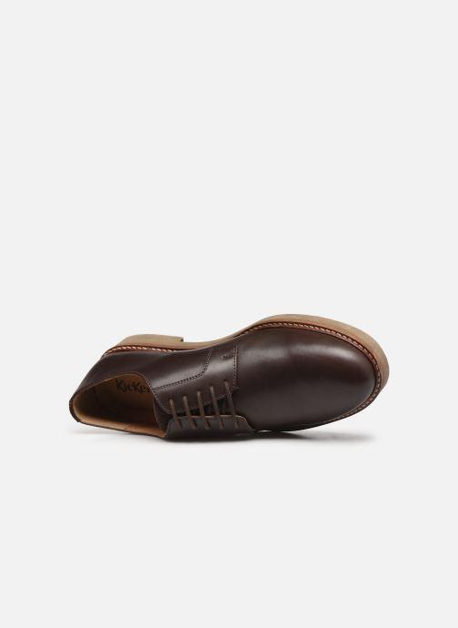 Chaussures à lacets Kickers OXBROK Marron vue gauche
