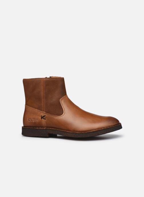 Bottines et boots Kickers CLUBCIT Marron vue derrière
