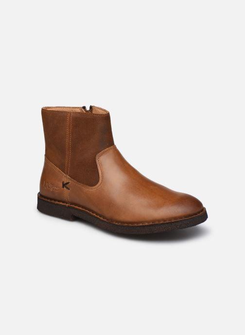 Bottines et boots Kickers CLUBCIT Marron vue détail/paire