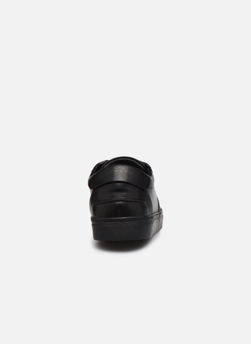 Sneaker Kickers SNIKLAN M schwarz ansicht von rechts