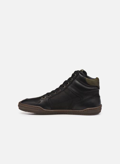 Baskets Kickers JUNGLEHIGH Noir vue face