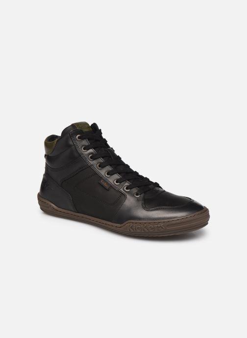 Sneaker Kickers JUNGLEHIGH schwarz detaillierte ansicht/modell