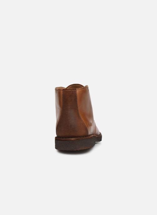 Stiefeletten & Boots Kickers CLUBY braun ansicht von rechts