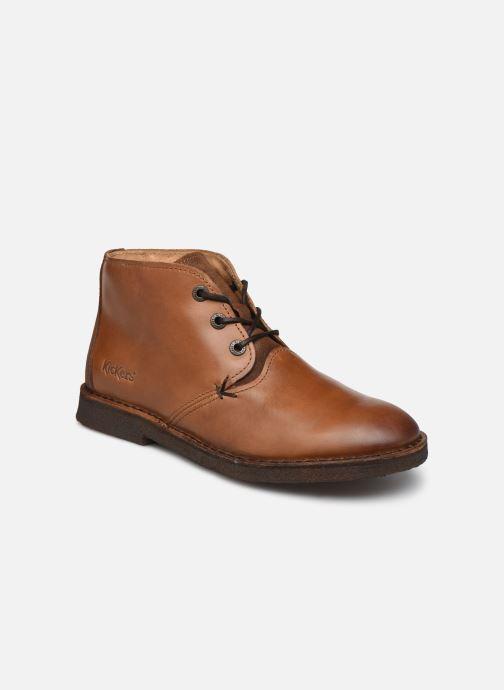 Stiefeletten & Boots Kickers CLUBY braun detaillierte ansicht/modell