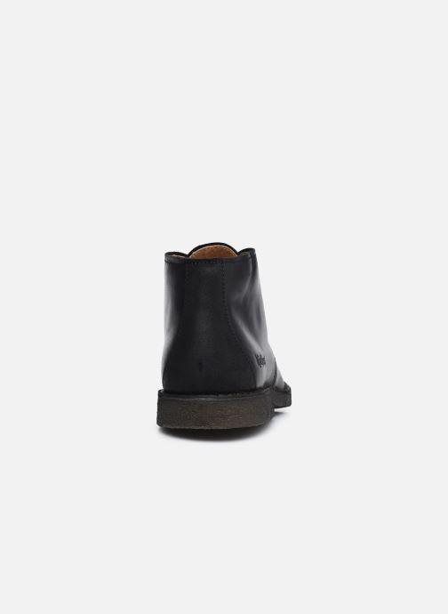 Bottines et boots Kickers CLUBY Noir vue droite