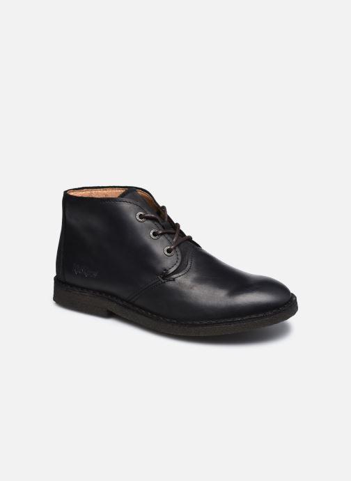 Bottines et boots Kickers CLUBY Noir vue détail/paire