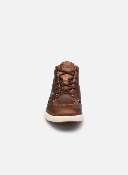 Bottines et boots Kickers KICK HI 3 Marron vue portées chaussures