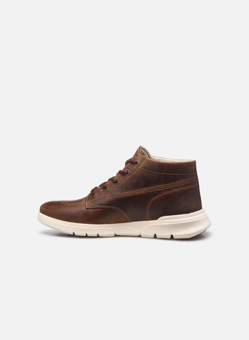 Stiefeletten & Boots Kickers KICK HI 3 braun ansicht von vorne