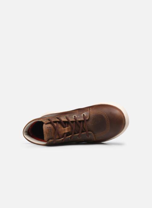 Bottines et boots Kickers KICK HI 3 Marron vue gauche