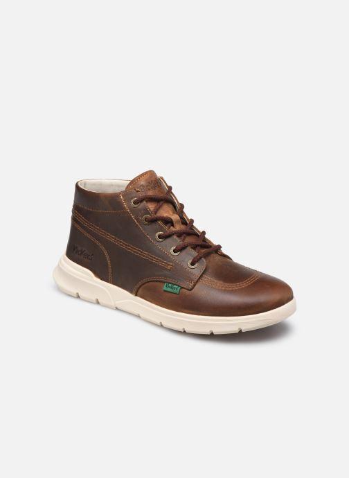 Bottines et boots Kickers KICK HI 3 Marron vue détail/paire