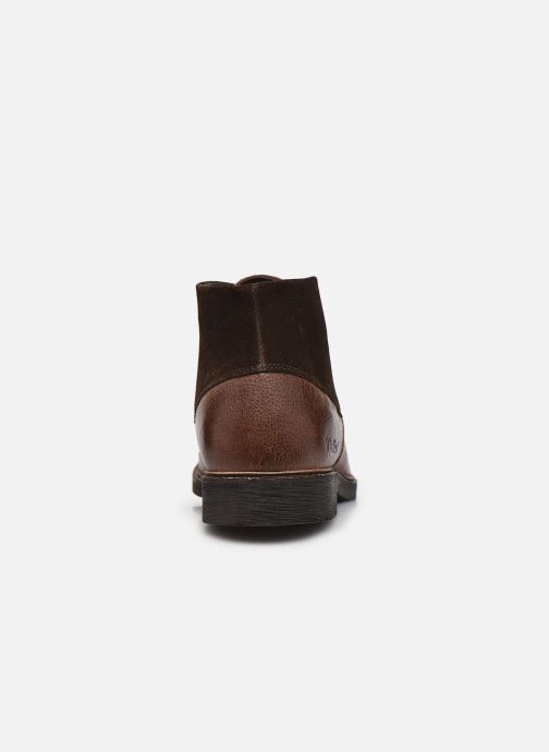 Stiefeletten & Boots Kickers MATEON braun ansicht von rechts
