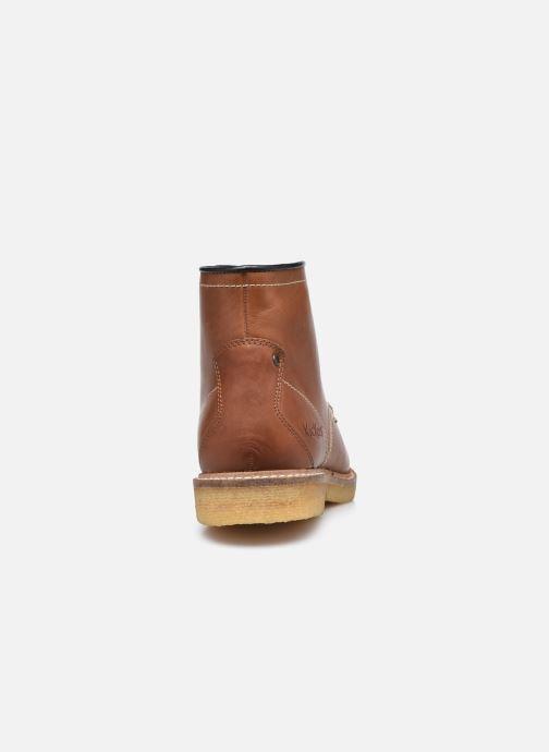 Bottines et boots Kickers HORUZY Marron vue droite