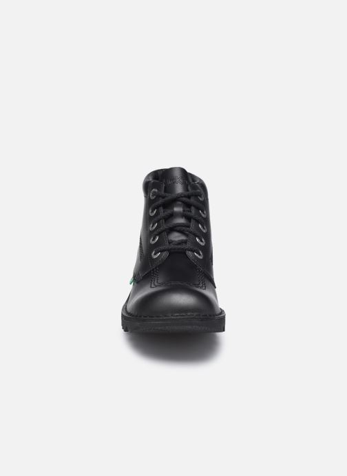 Stiefeletten & Boots Kickers KICK HI schwarz schuhe getragen