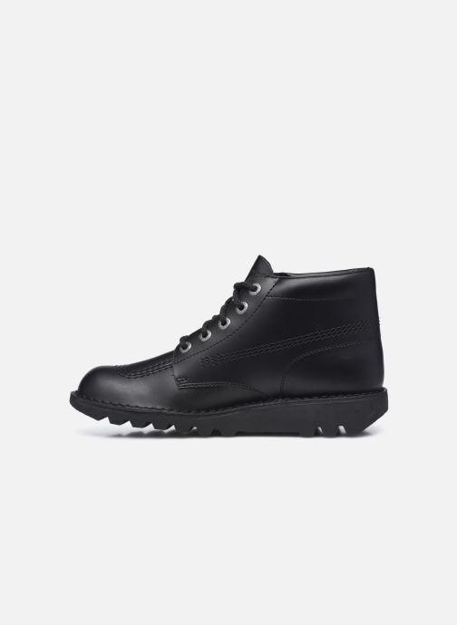 Stiefeletten & Boots Kickers KICK HI schwarz ansicht von vorne
